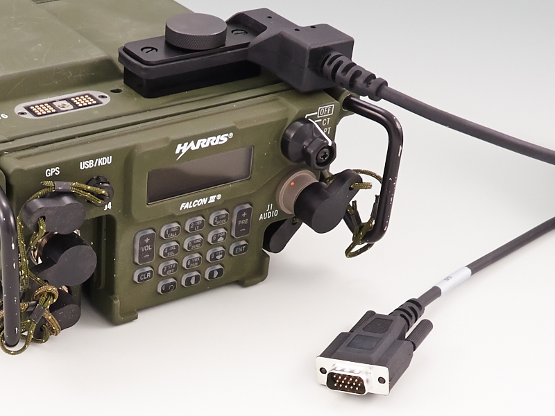 AN/PRC-117G Remote Control Console Cable